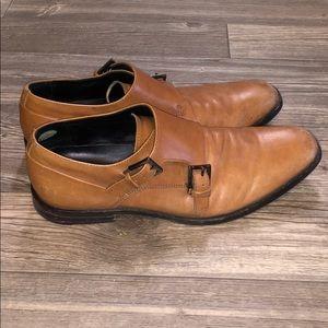 Calvin Klein Monk Strap Dress Shoes